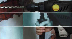 Click picture for an enlargement, part picture of rotary hammer.