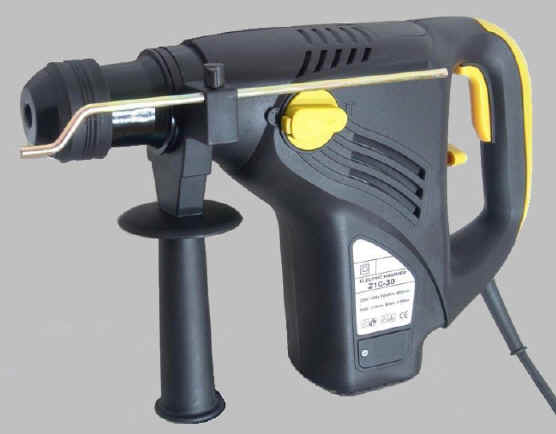 Click picture for an enlargement of the rotary hammer.